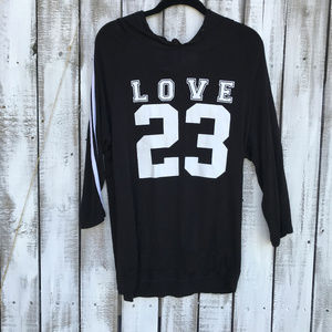 3/$20 free kisses SZXL  hooded shirt Love Graphics